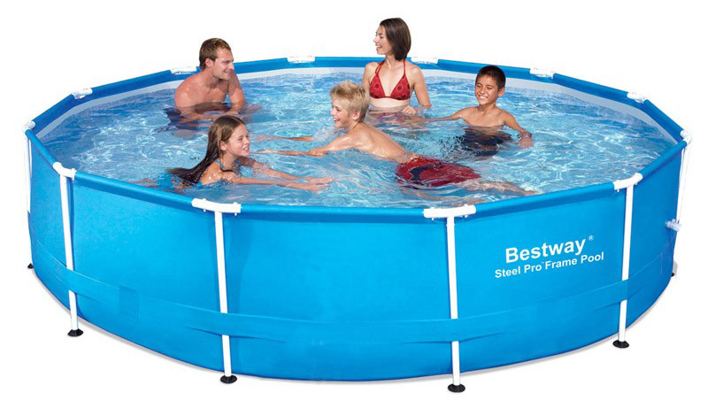 Image of BestWay 8ft x 24inch Steel Pro Pool