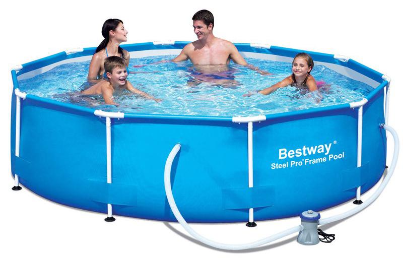 Image of BestWay 10ft x 30inch Steel Pro Pool Set