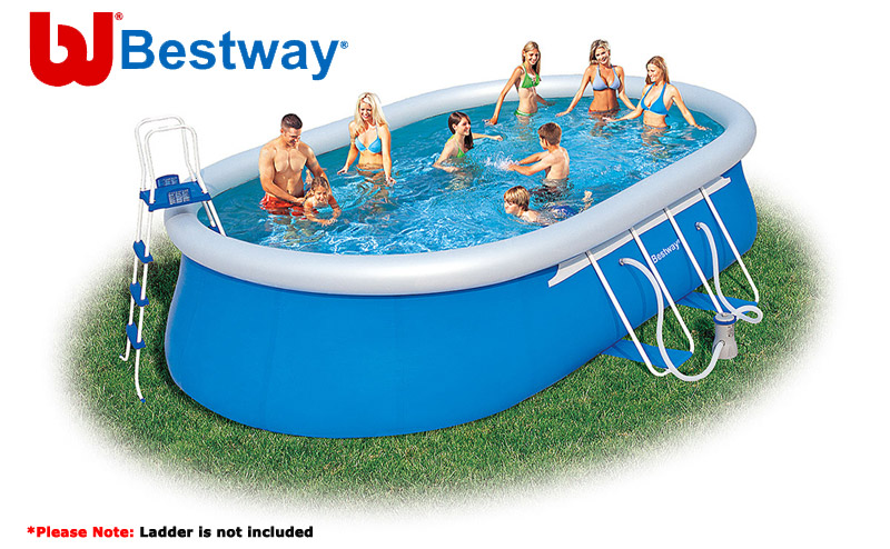 Image of BestWay 20ft x 12ft x 48inch Fast Set Pool Set