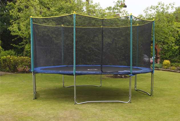 Image of Big Air Universal 10ft Trampoline With Safety Enclosure