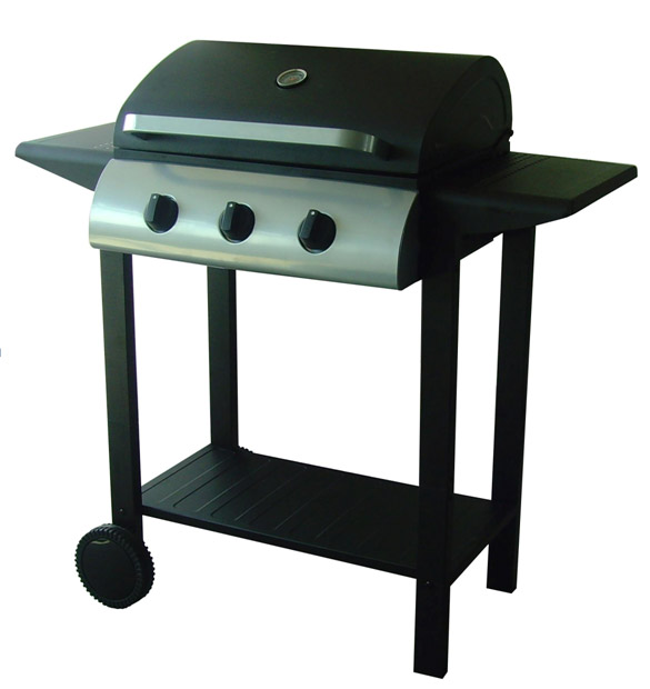 Image of Embermann Grillmate 3 Burner Gas Barbecue