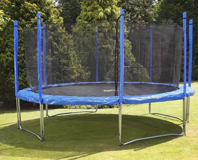Image of Big Air Universal 12ft Trampoline + Safety Enclosure