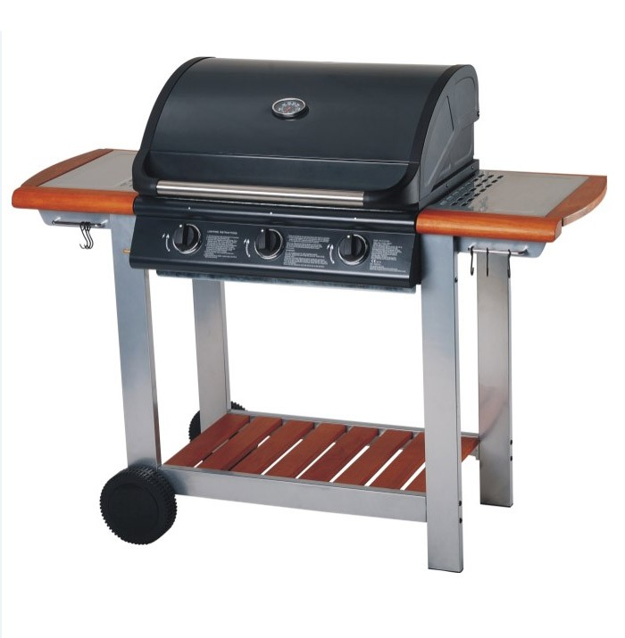 Image of Embermann Modena 3 Burner Gas Barbecue