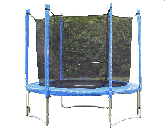 Image of Big Air Universal 8ft Trampoline With Safety Enclosure