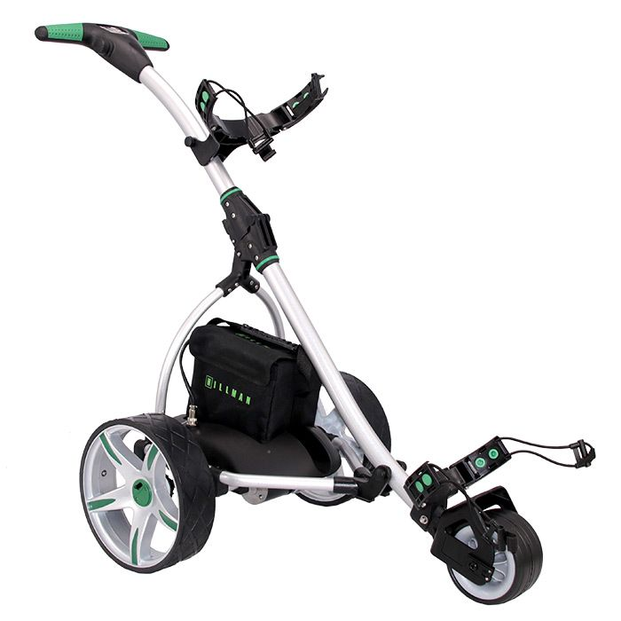 Hillman GT Endurance Golf Trolley Green with 33Ah Lead Acid Battery