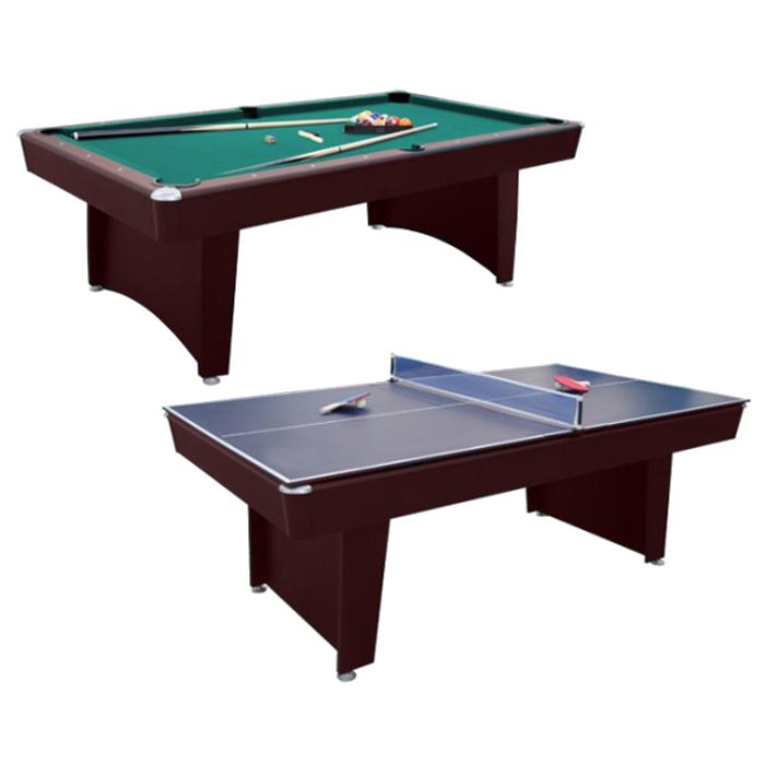 Walker /& Simpson 2 in 1 Air Hockey /& Pool Combo Table in Black