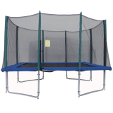 Big Air 8x12ft Rectangular Trampoline With Safety Enclosure