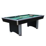 Walker & Simpson Regent 7ft Pool Table Black Body & Green Cloth