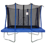 Velocity 6x9ft Blue Rectangular Trampoline With Safety Enclosure