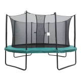 Mako Classic 8x12ft Oval Trampoline With Safety Enclosure