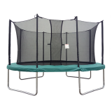 Velocity 10x14ft Oval Trampoline With Safety Enclosure
