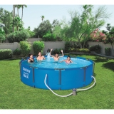 BestWay 10ft x 30inch Steel Pro Max™ Above Ground Swimming Pool With Filter