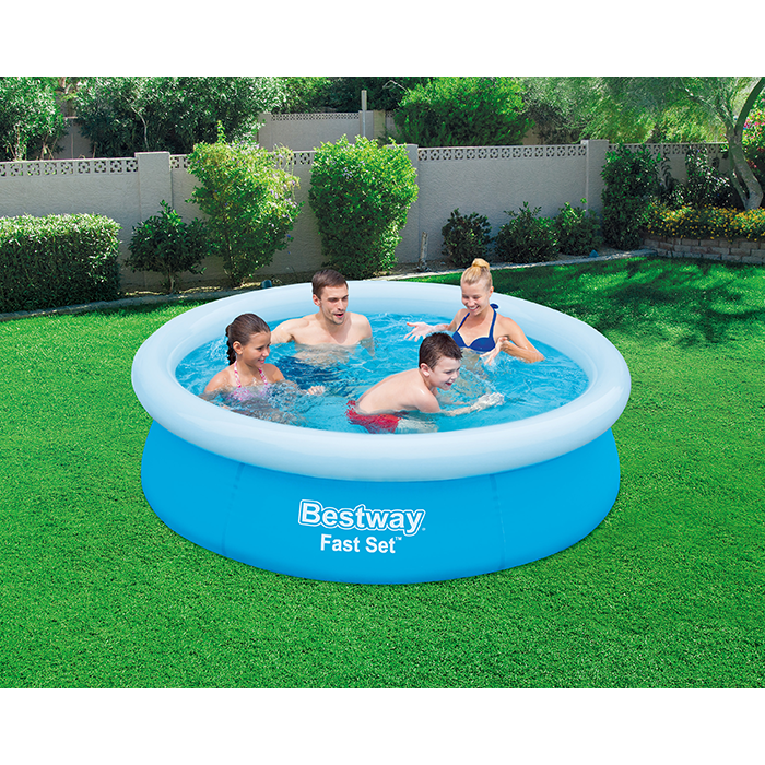 BestWay 6ft 6inch x 20inch Fast Set™ Above Ground Swimming Pool