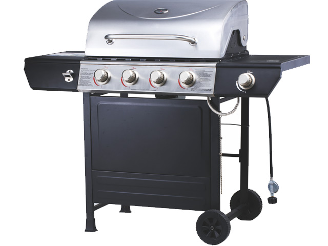 Image of Emberman Grill Master 4 Burner Stainless Steel