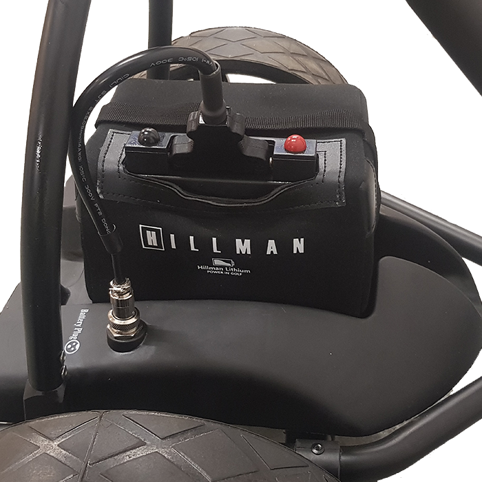 Hillman Lithium Golf Trolley 16ah - 18-27 Hole Battery Set