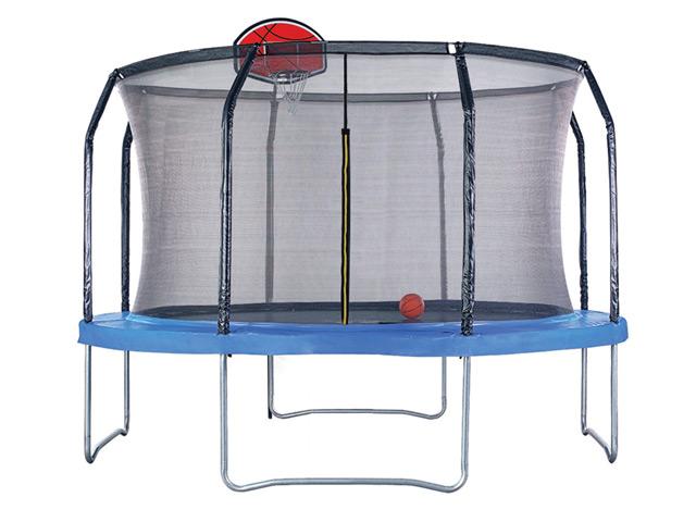 Image of Air League 10ft Trampoline Basketball Hoop